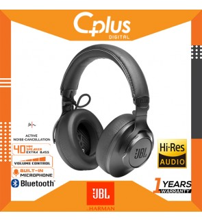 JBL CLUB ONE - Premium Wireless Over-Ear Headphones with Hi-Res Sound Quality Adaptive Noise Cancellation and EQ Customization