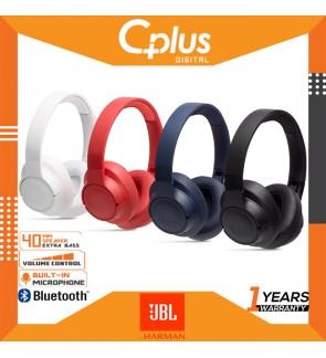 JBL Tune 700BT Over-Ear Wireless Headphones with 27-Hour Playtime, Multi-Point Connection & Quick Charging