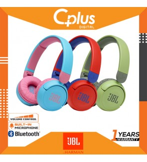 JBL JR310 BT On-Ear Kids Bluetooth Wireless Headphone with Headset and Remote Control - Ideal for School and Leisure