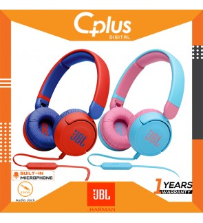 JBL JR310 On-Ear Kids Wired Headphone with Headset and Remote Control - Ideal for School and Leisure