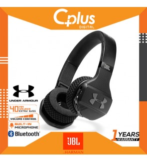 JBL Under Armour Sport Wireless Train – On-Ear Bluetooth Headphones with Microphone Made for Sport ,IPX4 Sweatproof