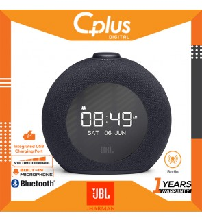 JBL Horizon 2 Bluetooth Alarm Clock Radio Speaker with FM Radio and DAB , 2 USB ports for Charging Devices
