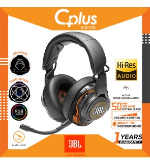 JBL Quantum ONE - Over-Ear Performance ANC Gaming Headset with Active Noise Cancelling and Hi-Res Sound Quality