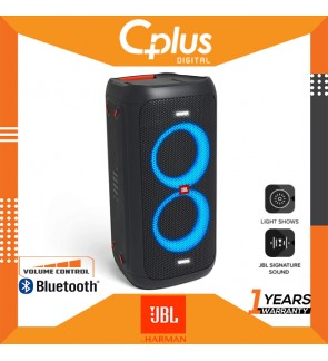 JBL PartyBox 100 160W  Portable Bluetooth Party Speaker with Bass Boost and Dynamic Light Show