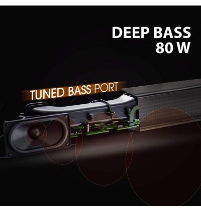 JBL Bar 2.0 Bluetooth 4.2 All-in-One Compact 80W Soundbar