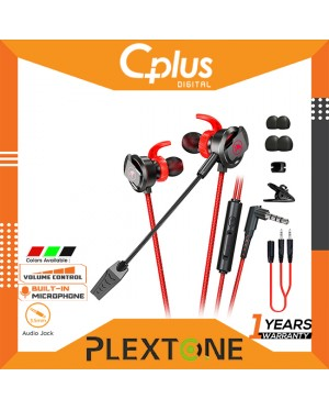 PLEXTONE XMOWI RX3 Gaming Earphone Microphone Dual Noise Reduction Microphone In-Ear Earphone