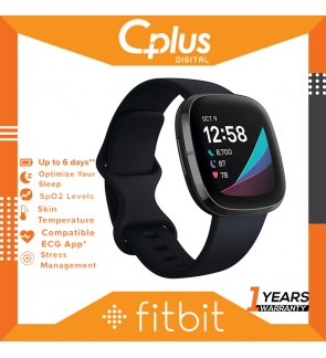 Fitbit Sense Advanced Smartwatch with Tools for Heart Health, Stress Management & Skin Temperature Trends, ECQ Supported
