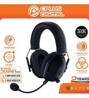 Razer BlackShark V2 Pro Wireless Gaming Headset: THX 7.1 Spatial Surround Sound -50mm Drivers for PC - 3.5mm Audio Jack
