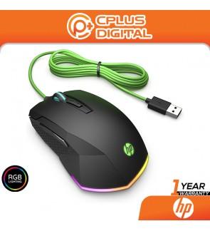 HP Pavilion Gaming 200 Wired USB RGB LED Gaming Mouse, 3.200 DPI Pixart Optical Gaming Sensor, Ergonomic