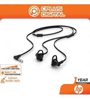 HP 150 In-Ear Wired Earbuds with Mic