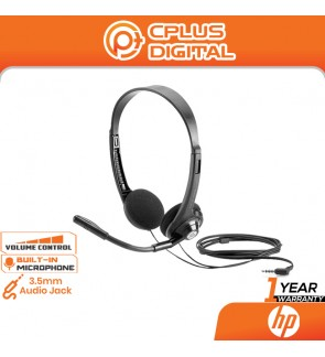 HP Boom Mic 150 On-Ear Headset with Mic - 3.5mm Audio Jack