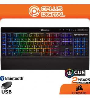 CORSAIR K57 RGB Wireless / Wired Gaming Keyboard - Slipstream Wireless - Connect with USB dongle
