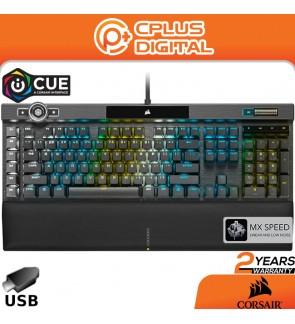 Corsair K100 RGB Mechanical Gaming Keyboard- AXON Hyper-Processing Technology for 4X Faster Throughput-