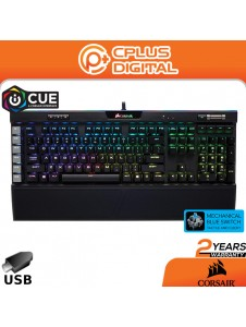 Corsair K95 RGB Platinum Mechanical Gaming Keyboard-6 Programmable Keys - USB Passthrough & Media Controls - RGB Backlit