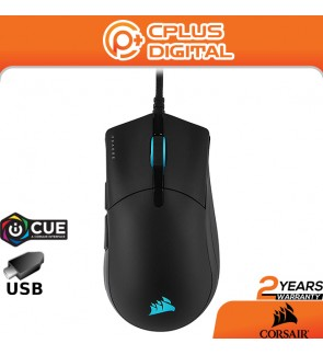 CORSAIR Sabre RGB PRO Champion Series FPS/MOBA Gaming Mouse - Ergonomic Shape for Esports, Ultra-Lightweight 74g