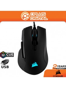 Corsair Ironclaw RGB - FPS and MOBA Gaming Mouse - 18,000 DPI Optical Sensor - Backlit RGB LED