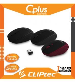 CLiPtec INNOVIF 1600dpi 2.4GHz Wireless Optical Mouse RZS857