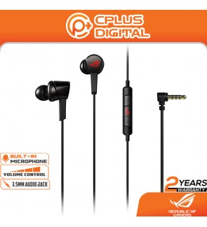 ASUS ROG Cetra Core In-Ear Gaming Earphones, In-Line Microphone, 10 mm ASUS Essence Drivers, 90 Degree Cable Connector