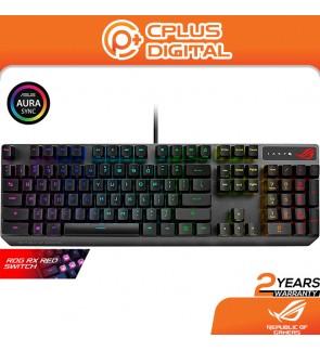 Asus XA05 ROG Strix Scope RX RGB Mechanical Gaming Keyboard - ROG RX Red Optical Mechanical Switches