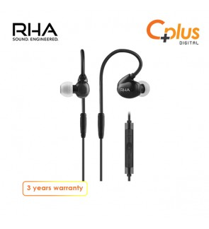 RHA T20i High Fidelity with remote and microphone Dual Coil In-Ear Headphone
