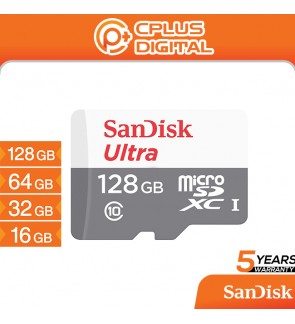 SanDisk Micro SD Card Memory Card Ultra 80-100MB/s Class 10 Memory Card Micro SD (128GB/64GB/32GB/16GB) SDSQUNS/SDSQUNR