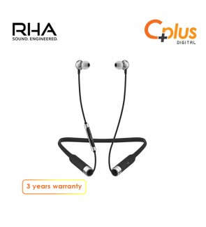 RHA MA650 Wireless: 12 Hour Battery Life Bluetooth Noise Isolating In-Ear Headphones with Universal Remote & Microphone, 3 Year Warranty included