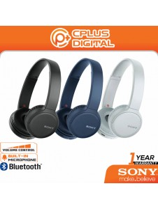 Sony WH-CH510 Wireless On-Ear Headphones Bluetooth with Swivel Design Voice assistant USB Type C Charging