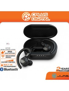JLab Epic Air Sport ANC Bluetooth 5.0 True Wireless Earbuds for Working Out   IP66 Sweatproof   3 EQ Sound Settings