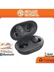 Tranya M10-B Bluetooth 5.1 True Wireless Earbud with 14.2mm Driver, Stereo - 2 EQ Sound Setting : Bass Boost , Normal
