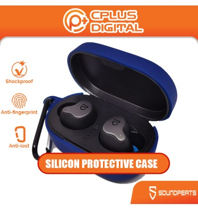 SoundPEATS H1 Silicone Protective Earphone Case with Anti-Lost Buckle