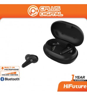 HiFuture FreeAir Bluetooth 5.0 True Wireless In-ear Earbuds Smart Touch Control Stereo Earphones Noise Cancelling Earbud