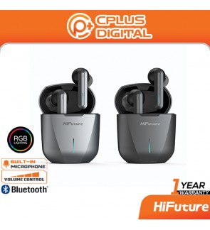 HiFuture Radge RGB Gaming Wireless Earbuds Bluetooth 5.0 True Wireless Stereo Heavy Bass Touch Control