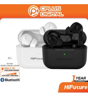 HiFuture TrueAir ANC Bluetooth 5.0 In-Ear True Wireless with IPX5 Waterproof Low Latency Gaming Mode