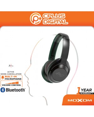 MOXOM MX-WL42 Pioneer Active Noise Cancelling Bluetooth Wireless Gaming Headphone Headset