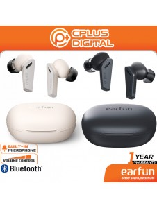 EarFun Air Pro Hybrid Active Noise Cancelling Bluetooth 5.0 True Wireless Earbuds,with 6 Mics ENC, in-Ear Detection