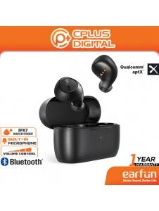 EarFun Free 2 Qualcomm 3040 APTX Bluetooth 5.2 Earphones, 4 Mics CVC 8.0 Noise Cancelling, Low Latency,IPX7 Waterproof
