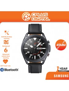 SAMSUNG Galaxy Watch 3 (41mm / 45mm, GPS, Bluetooth) Smart Watch with Advanced Health Monitoring, Fitness Tracking