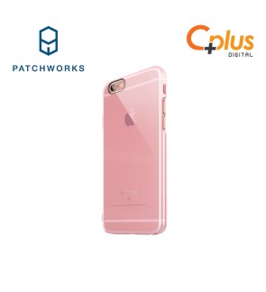 Patchwork Colorant C0 Hard Clear (For iPhone 6S) Pink