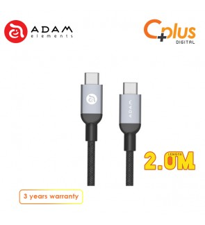 Adam Elements Casa B200 Type-C to Type-C Cable 2.0M