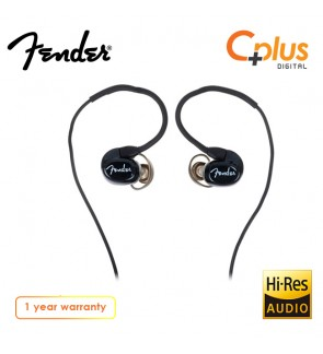 Fender CXA1 Pro In-Ear Monitor Earphone with Mic (Black)