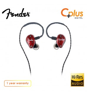 Fender FXA6 Pro In-Ear Monitor Earphone with Mic (Red)