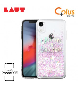 LAUT Liquid Glitter Case for iPhone XR (6.1 inch) - Unicorn