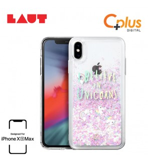 LAUT Liquid Glitter Case for iPhone XS Max (6.5 inch) - Unicorn