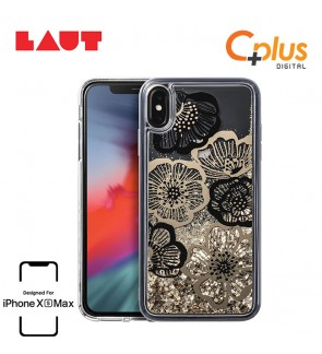 LAUT Liquid Glitter Case for iPhone XS Max (6.5 inch) - Fleur