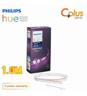 Philips Hue Lightstrip Plus Extension 1M (Compatible with Amazon Alexa Apple HomeKit and Google Assistant)