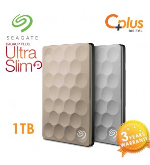Seagate Backup Plus Ultra Slim 1TB Portable External Hard Drive USB 3.0