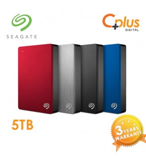 Seagate Backup Plus Slim 5TB Portable External Hard Drive USB 3.0
