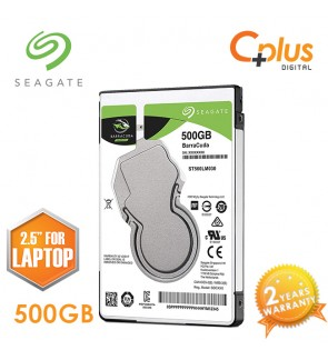 "Seagate 500GB 2.5"" BarraCuda SATA 128MB 5400RPM Internal Hard Drive (For Laptop)"
