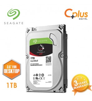 "Seagate 1TB 3.5"" IronWolf NAS SATA 64MB Cache 5900RPM Internal Hard Drive"