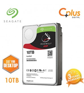 "Seagate 10TB 3.5"" IronWolf NAS SATA 256MB Cache 7200RPM Internal Hard Drive"